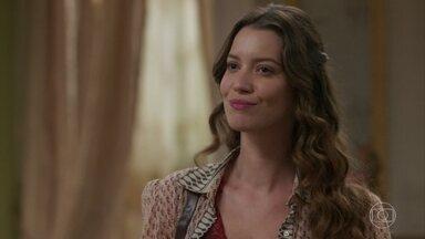 Elisabeta promete infernizar a vida de Susana - A jovem Benedito diz que a rival pode até sonhar com Darcy, mas garante que não sairá da vida do amado