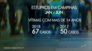 Aumenta o número de casos de estupro de menores de 14 anos no estado de São Paulo - Em Campinas, a alta foi de 2%, com 88 casos em seis meses.