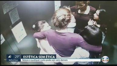 Vídeo contradiz depoimento de médico sobre morte de Lílian Calixto - O RJ2 teve acesso à imagens que podem ajudar nas investigações da morte da bancária Lílian Calixto, durante o precedimento estético.