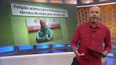 Palmeiras anuncia Felipão como novo técnico - Palmeiras anuncia Felipão como novo técnico