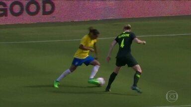 Seleção brasileira feminina sofre derrota para a Austrália no Torneio das Nações, nos EUA - Seleção brasileira feminina sofre derrota para a Austrália no Torneio das Nações, nos EUA