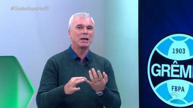 Maurício Saraiva comenta sobre boa fase de Everton e gols contra o São Paulo - Assista ao vídeo.