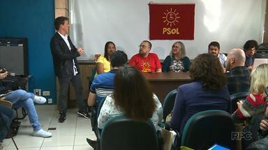 PSOL faz convenção partidária para escolher candidato ao governo do estado - Na noite desta quinta-feira (26) o PPL fez a convenção em Cascavel.