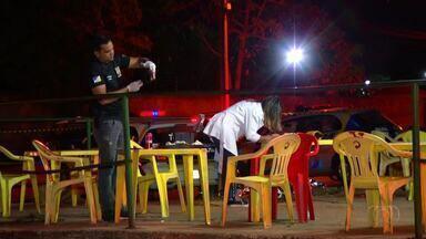 Suspeito de matar homem em bar de Palmas é preso - Suspeito de matar homem em bar de Palmas é preso