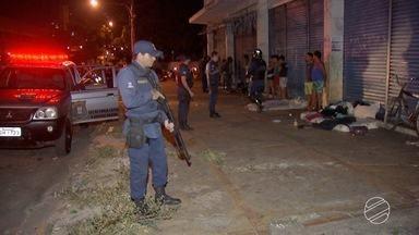Guarda Municipal faz operação na região central de Campo Grande - Eles passaram pelo entorno da antiga rodoviária, que é um ponto onde há usuários de drogas.