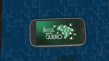 Grave um vídeo e dê sua opinião sobre o Brasil que você que para o futuro - Assista ao vídeo e saiba como participar.