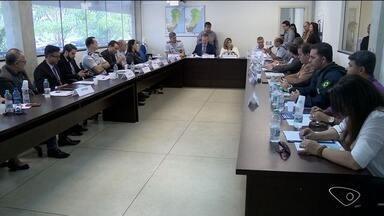 Autoridades da Segurança Pública definem ações de combate à criminalidade no Norte do ES - Primeira reunião aconteceu em São Mateus.