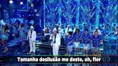 Monarco e Velha Guarda da Portela cantam 'Coração em Desalinho' - O sucesso empolga a plateia do 'Domingão'