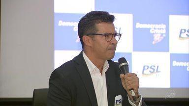 PSL lança Hélio Góis ao governo do estado - Saiba mais em g1.com.br/ce