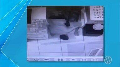 Mesmo com câmeras de segurança, ladrões furtam loja de shopping em Campo Grande - O assalto aconteceu depois da 22h no sábado, dia de grande movimento. Toda a ação foi filmada por câmeras de segurança instaladas dentro e fora da loja.