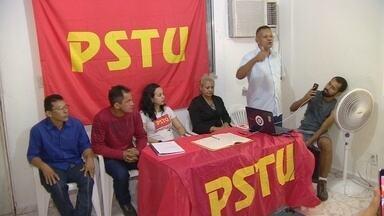 PSTU confirma Sidney Cabral para disputa do governo do AM - Funcionário público terá professora Maria Auxiliadora Castro como vice.