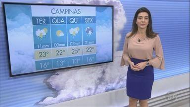 Confira a previsão do tempo para a região de Campinas nesta terça-feira (31) - Confira a previsão do tempo para a região de Campinas nesta terça-feira (31)