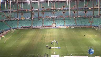 Bahia enfrenta o Atlético-MG nesta segunda-feira (30), na Arena Fonte Nova - Time baiano precisa vencer o adversário para sair da zona de rebaixamento.