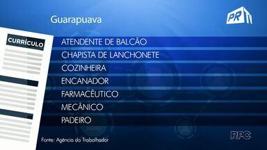 Veja as vagas disponíveis na agência do Trabalhador de Guarapuava - Para ter acesso a outras vagas é só procurar a agência no centro da cidade.