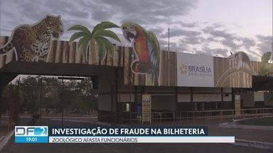 Direção do Zoológico descobre fraude na bilheteria - Cinco funcionários terceirizados foram demitidos.A suspeita é que bilheteiros ficavam com dinheiro das entradas.