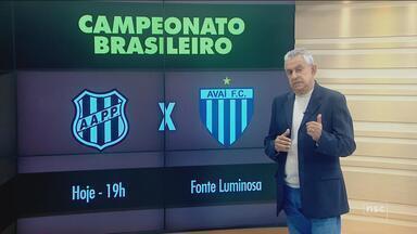 Avaí visita a Ponte Preta e pode fechar primeiro turno no G-4; Roberto Alves comenta - Avaí visita a Ponte Preta e pode fechar primeiro turno no G-4 da Série B; Roberto Alves comenta