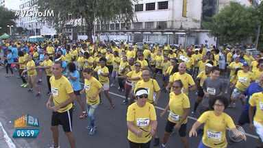 Circuito SESC de corrida e caminhada é realizado em Salvador - Cerca de 3 mil pessoas participaram do evento.