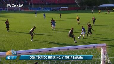 Vitória empata com o Cruzeiro no Brasileirão - Veja os destaques do jogo que terminou com o placar de 1 x 1.
