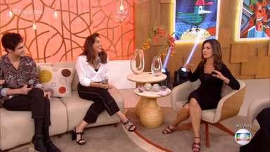 Encontro com Fátima Bernardes - Programa de segunda-feira, 06/08/2018, na íntegra - A apresentadora Fátima Bernardes recebe os atores Totia Meirelles e Danillo Ferreira. A música fica por conta de Alcione