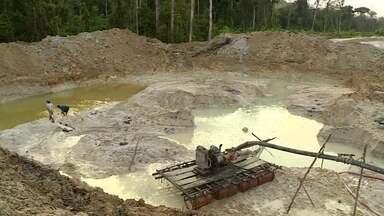 Garimpo de ouro divide opiniões no Vale do Tapajós - Garimpo na Amazônia gera riquezas e provoca polêmicas com serviços ilegais.