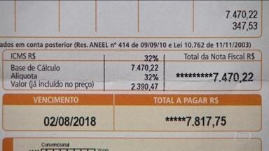 Energia elétrica impacta inflação de julho de 0,33% e o IPCA acumulado - Sem chuva suficiente nos reservatórios das hidrelétricas, conta de luz chega com bandeira vermelha, cobrança de R$ 0,05 a mais por quilowatt-hora consumido.
