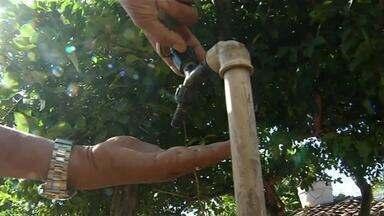 Moradores de Aragominas seguem com problemas no abastecimento de água - Moradores de Aragominas seguem com problemas no abastecimento de água