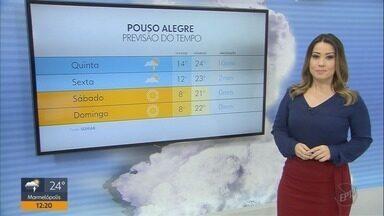 Confira a previsão do tempo para esta quinta-feira (9) no Sul de Minas - Confira a previsão do tempo para esta quinta-feira (9) no Sul de Minas