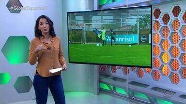 Grêmio se prepara para enfrentar o Vitória neste domingo (12) pelo Brasileirão - Assista ao vídeo.