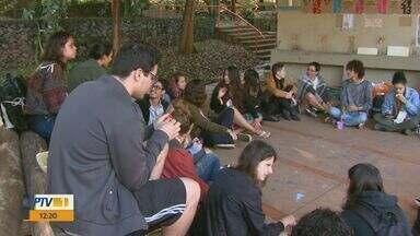Encontro Regional de Arquitetura e Urbanismo reúne cerca de 400 estudantes em São Carlos - Eles estão acampados no Parque do Bicão.