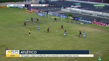 Atlético-GO inicia segundo turno da Série B do Campeonato Brasileiro no G-4 - Melhora da defesa é um dos diferenciais do time.
