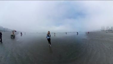 Um olhar em volta da praia - Reportagem gravada em 360° mostra um pouco o que acontece ao redor dessas belas paisagens brasileiras.