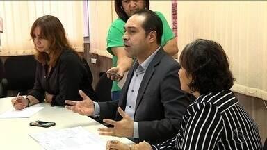 Estado recorre da decisão da Justiça que suspendeu concurso da PM - Secretário de Orçamento e Gestão falou com a imprensa.