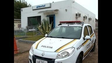 Agência bancária é arrombada com explosivos em Dilermando de Aguiar - Os criminosos agiram com tranquilidade já que o município não tinha policiais no momento do crime.