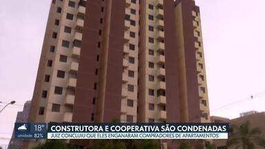 Justiça condena dono de construtora e presidente de cooperativa - Eles venderam apartamentos em prédios de Águas Claras, mas não entregaram as escrituras