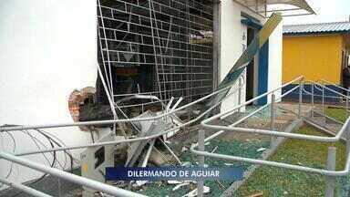 Agência do Banrisul em Dilermando de Aguiar é atacada - Ninguém foi preso.