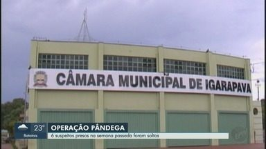 Justiça manda soltar seis dos sete presos por suspeitas de corrupção em Igarapava, SP - Grupo teria agido na prefeitura entre 2013 e 2016.