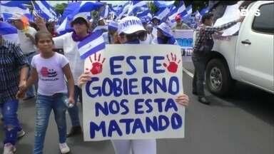 Nicarágua ontem e hoje