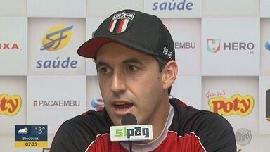 Botafogo-SP encara o Tombense pela Série C do Campeonato Brasileiro - Técnico do Tricolor de Ribeirão Preto, Léo Condé falou sobre o confronto deste sábado (11).
