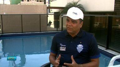 """Técnico Marcelo Cabo é um dos responsáveis pelo bom desempenho do CSA - Treinador já chegou a Maceió com um título da Série """"B"""" na bagagem."""