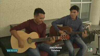 Viradão da Juventude conta com 24 horas de programação, no Cuca Jangurussu - Saiba mais em g1.com.br/ce
