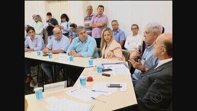 Municípios da região paralisam serviços públicos devido atraso em repasses do Estado - Dezoito das 22 prefeituras mineiras que fazem parte da Associação dos Municípios da Microrregião do Vale do Paranaíba (Amvap) aderiram ao movimento.