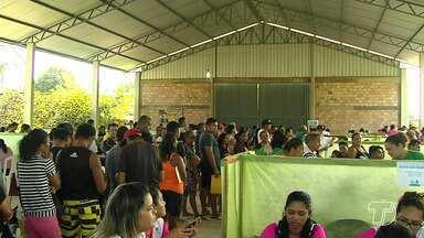Caravana do viva a vida chega ao bairro santo André - Moradores receberam vários serviços de cidadania, saúde e lazer.