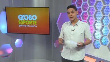 Ceará encerra preparação para jogo com o Atlético-PR, pela Série A - Ceará encerra preparação para jogo com o Atlético-PR, pela Série A