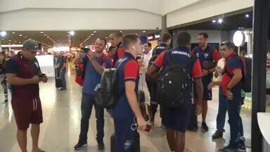 Fortaleza viaja e treina em São Paulo para jogo como Guarani - Fortaleza viaja e treina em São Paulo para jogo como Guarani