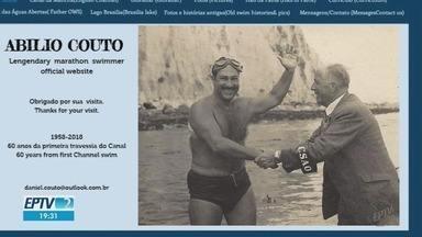 Primeira travessia do Canal da Mancha feita por sul-americano completa 60 anos - Ribeirão-pretano Abílio Couto cruzou o mar entre Inglaterra e França em 1958.