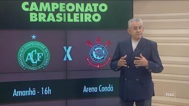 Chapecoense recebe o Corinthians neste domingo; Criciúma e Figueira jogam pela Série B - Chapecoense recebe o Corinthians neste domingo; Criciúma e Figueira jogam pela Série B
