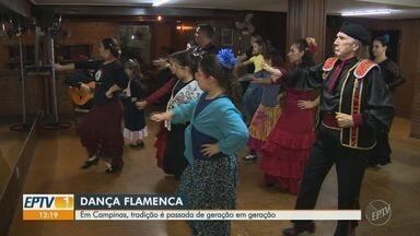 Famílias descobrem na dança flamenca uma forma de fortalecer o vínculo entre pais e filhas - Senhor Christovam fala um pouco sobre o vínculo com a música e a dança na família.