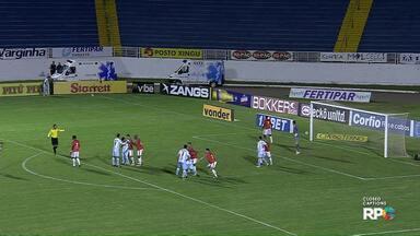 Londrina decepciona na estreia do novo técnico - O Londrina perdeu por 1 x 0 para o lanterna da Série B.
