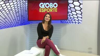 Veja a íntegra do Globo Esporte CG, com Laisa Grisi - Veja os destaques do esporte paraibano desta sexta-feira.