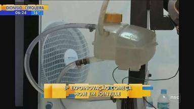 Joinville recebe a 6ª Expoinovação a partir desta terça-feira (14) - Joinville recebe a 6ª Expoinovação a partir desta terça-feira (14)